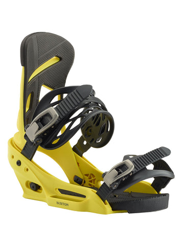 BURTON MISSION EST SNOWBOARD BINDINGS - GRELLOW - 2020 FRONT