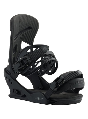 BURTON MISSION SNOWBOARD BINDINGS - BLACKISH - 2019