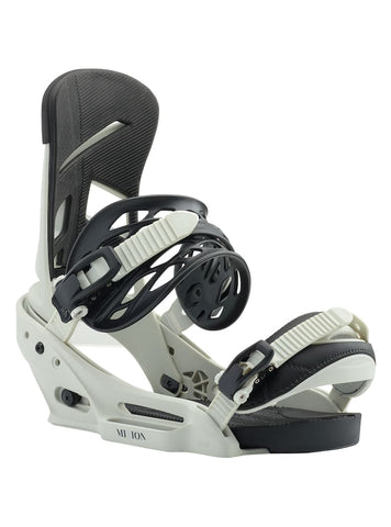 BURTON MISSION EST SNOWBOARD BINDINGS - BONE - 2019 - Boardwise
