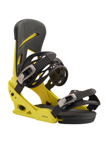 BURTON MISSION SNOWBOARD BINDINGS - GRELLOW - 2020 FRONT