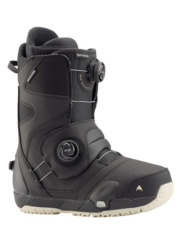 BURTON PHOTON STEP ON SNOWBOARD BOOTS - BLACK - 2021