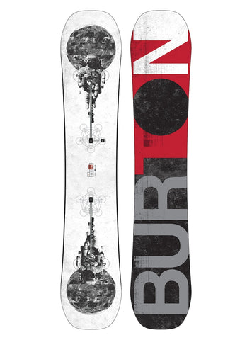 BURTON PROCESS OFF-AXIS SNOWBOARD - 2018
