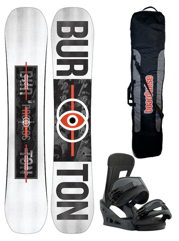 BURTON PROCESS FLYING V SNOWBOARD PACKAGE - 2019