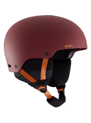 ANON RAIDER 3 HELMET - DOA RED - 2020 - Boardwise