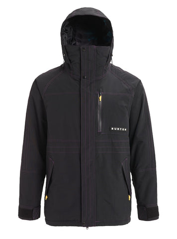 BURTON RETRO JACKET - TRUE BLACK - 2019 - Boardwise