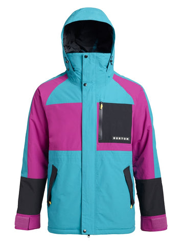 BURTON RETRO JACKET - TAHOE GRAPESEED - 2019