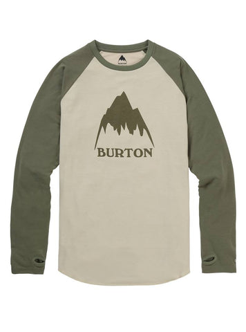 BURTON ROADIE TECH T-SHIRT - PELICAN - 2019