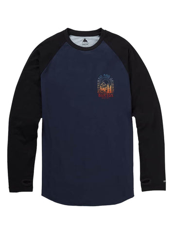 BURTON ROADIE TECH T-SHIRT - MOOD INDIGO - 2019