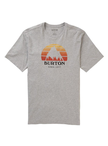 BURTON UNDERHILL T-SHIRT - GRAY HEATHER - 2020 FRONT
