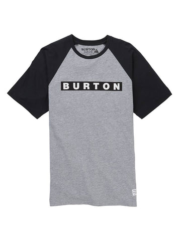 BURTON VAULT T-SHIRT - GRAY HEATHER - 2019 - Boardwise