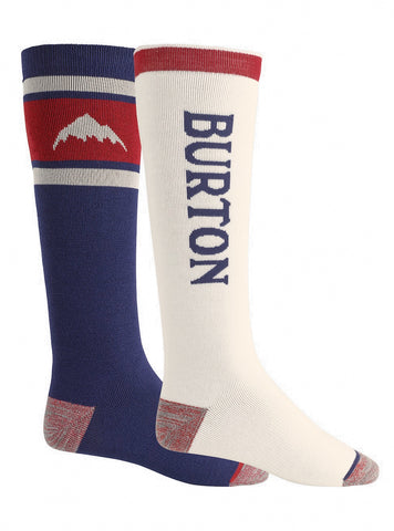 BURTON WEEKEND MIDWEIGHT SNOWBOARD SOCKS - MOOD INDIGO - 2021