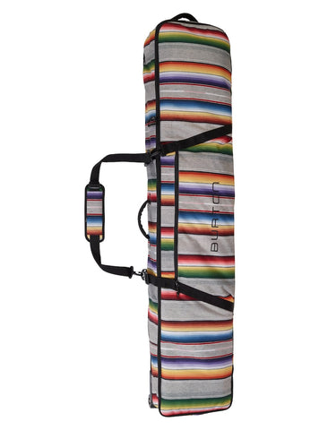 BURTON WHEELIE GIG SNOWBOARD BAG - BRIGHT SINOLA STRIPE - 2018