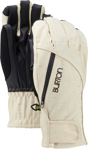 BURTON WOMENS BAKER 2 IN 1 SNOWBOARD GLOVE - CANVAS - 2016 - Boardwise