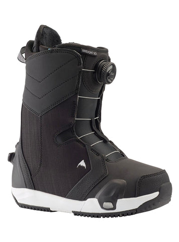 BURTON WOMENS LIMELIGHT STEP ON SNOWBOARD BOOTS - BLACK - 2021