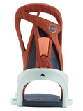 BURTON WOMENS SCRIBE SNOWBOARD BINDINGS - WOOD GRAIN JANE - 2020 BACK
