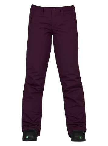 BURTON WOMENS SOCIETY SNOWBOARD PANT - STARLING - 2018 - Boardwise