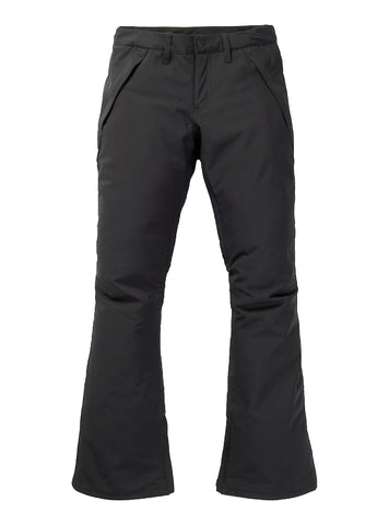 BURTON WOMENS SOCIETY SNOWBOARD PANT - TRUE BLACK - 2021