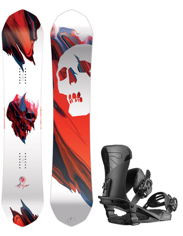 CAPITA ULTRAFEAR WIDE SNOWBOARD PACKAGE - 2019