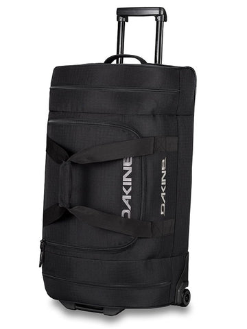 DAKINE DUFFLE ROLLER 90 L TRAVEL BAG - BLACK - Boardwise