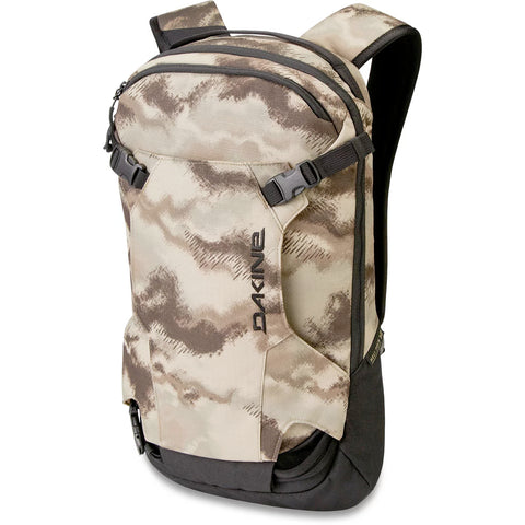 DAKINE HELI 12L BACKPACK - ASHCROFT CAMO - 2020 FRONT