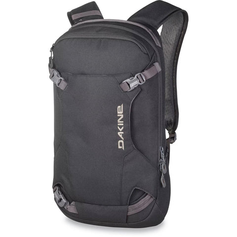 DAKINE HELI 12L BACKPACK - BLACK - 2020 - Boardwise