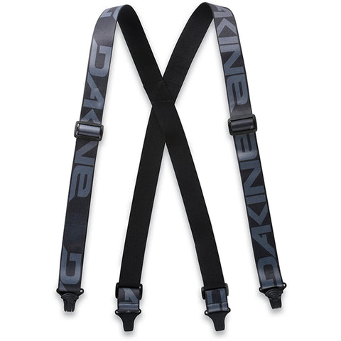 DAKINE HOLD'EM SUSPENDERS SNOWBOARD BRACES - BLACK - 2020 - Boardwise