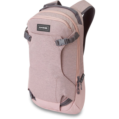 DAKINE WOMENS HELI PACK 12L BACKPACK - WOODROSE - 2020 - Boardwise