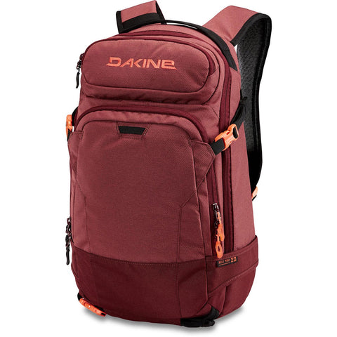 DAKINE WOMENS HELI PRO 20L BACKPACK - BURNT ROSE - 2018