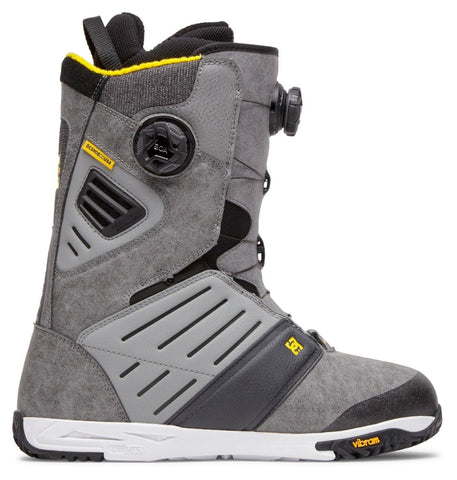DC JUDGE BOA SNOWBOARD BOOTS - FROST GREY - 2021
