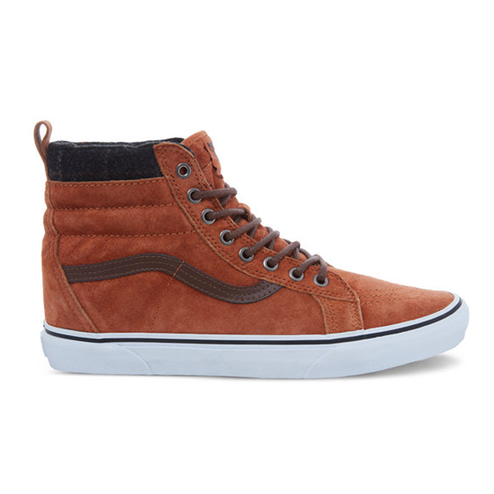 4f3750f205be4e VANS SK8-HI MTE SHOES - GLAZED GINGER PLAID