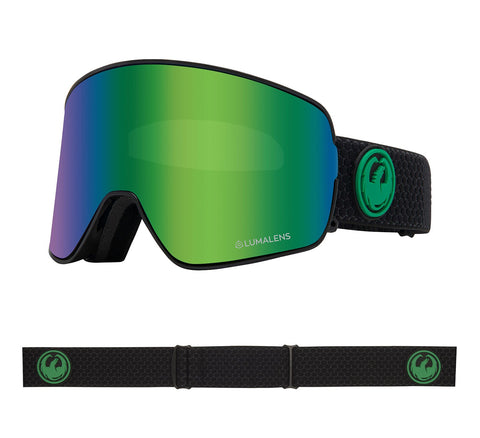 DRAGON NFX2 SNOWBOARD GOGGLES - SPLIT GREEN IONIZED + AMBER LENS - 2020 - Boardwise
