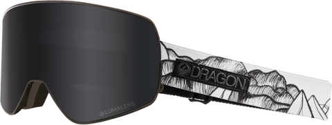 DRAGON NFX2 SNOWBOARD GOGGLES - CHRIS BENCHETLER SMOKE + RED LENS - 2019