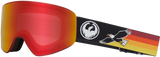 DRAGON PXV SNOWBOARD GOGGLES - EAGLE RED IONIZED + AMBER LENS - 2019 - Boardwise