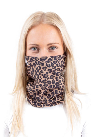 EIVY COLDER NECK WARMER - LEOPARD - 2020 - Boardwise