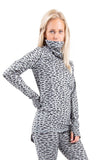 EIVY ICECOLD ADJUSTABLE THERMAL TOP - GREY LEOPARD - 2020 - Boardwise