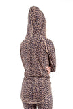 EIVY ICECOLD HOOD THERMAL TOP - LEOPARD - 2020 - Boardwise