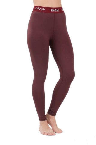 EIVY ICECOLD THERMAL BASELAYER PANT - WINE - 2019 - Boardwise