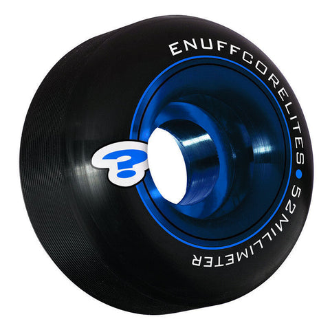 ENUFF CORELITES 52MM - BLACK - SKATEBOARD WHEELS