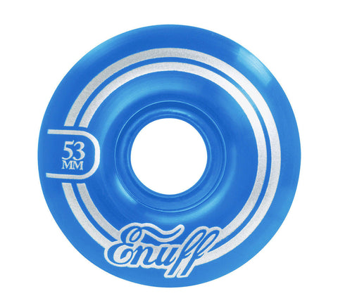 ENUFF REFRESHER 53MM - BLUE - SKATEBOARD WHEELS - Boardwise