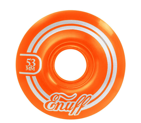 ENUFF REFRESHER 53MM - ORANGE - SKATEBOARD WHEELS - Boardwise