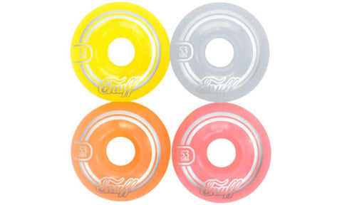 ENUFF REFRESHER 53MM - PASTEL MIX - SKATEBOARD WHEELS