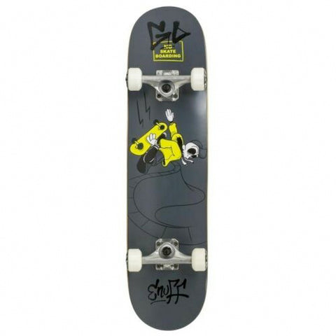 ENUFF SKULLY SKATEBOARD COMPLETE - BLACK