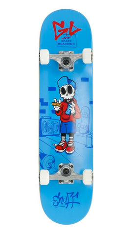 ENUFF SKULLY SKATEBOARD COMPLETE - BLUE