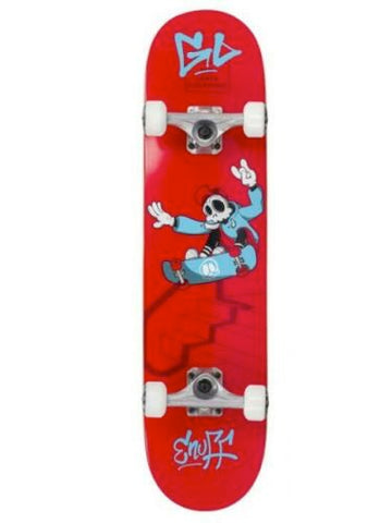 ENUFF SKULLY SKATEBOARD COMPLETE - RED