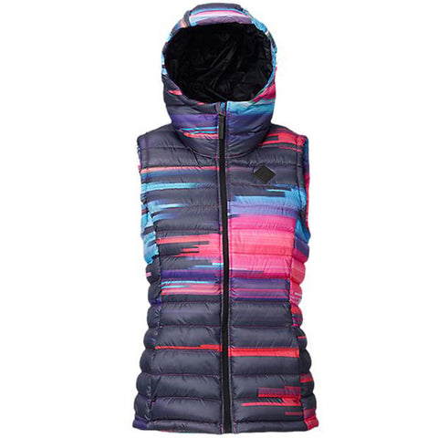 BURTON WOMENS EVERGREEN HOODED SYNTHETIC VEST - 2017 - Boardwise