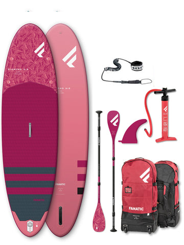 "2020 Fanatic Diamond Air 9'6"" Inflatable SUP Package"