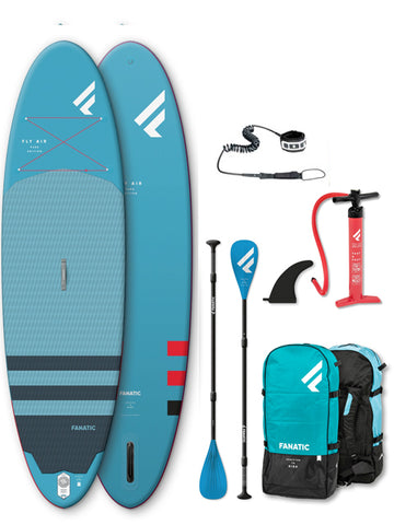 "Fanatic Fly Air 10'4"" Stand Up Paddleboard Package - 2020"