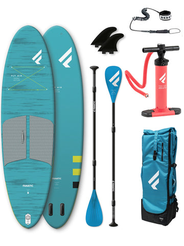 "Fanatic Fly Air Pocket 10'4"" Stand Up Paddleboard Package - 2020"