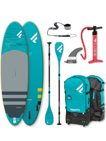 "Fanatic Fly Air Premium 10'4"" Stand Up Paddleboard Package - 2020"