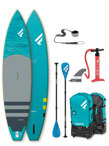 "Fanatic Ray Air 11'6"" Premium Stand Up Paddleboard Package - 2020"